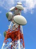 komunikacja anteny Zdjęcia Royalty Free