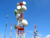 komunikacja anteny obraz stock