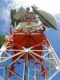 komunikacja anteny Fotografia Stock