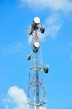 Komunikacja anteny Wierza Obraz Stock