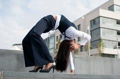 komunikacja biznesowa elastyczna Obraz Royalty Free