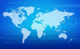komunikacja globalna Ilustracja Wektor
