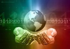 komunikacja globalna Fotografia Stock