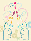 Komunikacja i interakcja Obraz Stock