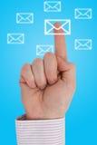 komunikacja interaktywna Obraz Stock