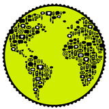 komunikacja na całym świecie fotografia royalty free