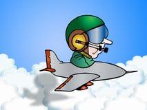 komunikacja pilot Fotografia Stock