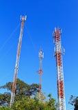 Komunikacja Tower4 Fotografia Stock