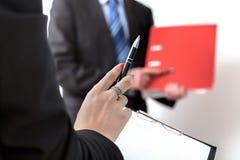 Komunikacja w biznesie Fotografia Royalty Free