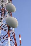 komunikacja wieże Obrazy Stock