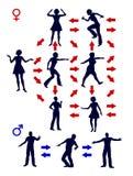 Komunikacja wzór Zdjęcia Stock