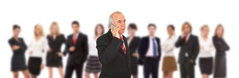komunikacje biznesowe Fotografia Stock