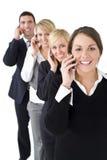 komunikacje biznesowe Obrazy Royalty Free