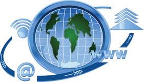 Komunikacyjna ikona Zdjęcie Royalty Free