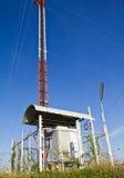 komunikacyjna stacja Fotografia Stock
