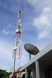 Komunikacyjna stacja Zdjęcia Stock