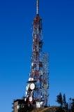 Komunikacyjne anteny Obrazy Royalty Free
