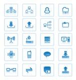 komunikacyjne ikony ilustracji