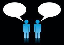 komunikacyjni ludzie Ilustracji