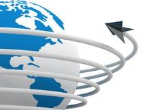 komunikacyjny globalny świat royalty ilustracja