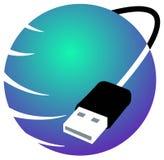 komunikacyjny logo Obrazy Royalty Free