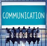 Komunikacyjny Podłączeniowy Korporacyjny przywódctwo pojęcie zdjęcie royalty free