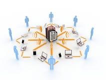 komunikacyjny pojęcie Obrazy Stock