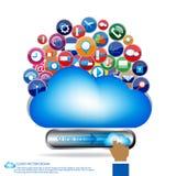 Komunikacyjny projekt Fotografia Stock
