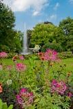 Kon Astridpark, Bruges images stock