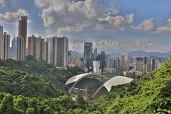 SO KON PO, the Hong Kong Stadium Royalty Free Stock Photos