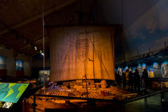 Kon-Tiki Museum i Oslo Arkivfoton