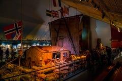 Kon-Tiki Museum in Oslo royalty free stock photography