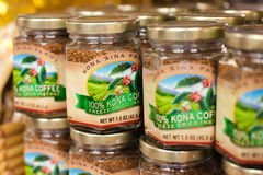 Kona咖啡,夏威夷 库存图片