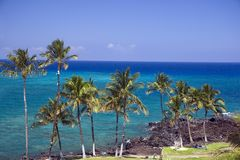 kona της Χαβάης παραλιών Στοκ εικόνες με δικαίωμα ελεύθερης χρήσης