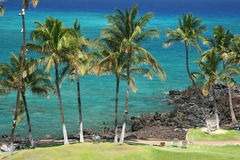 kona Гавайских островов пляжа Стоковые Изображения