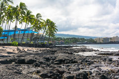 Kona beach, Hawaii Royalty Free Stock Image
