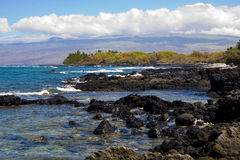 Kona Coastline Stock Photography
