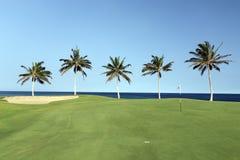 kona de golf de cours de plage salut photographie stock libre de droits