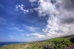 Kona and Hawaiian slopes Royalty Free Stock Images