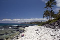 Kona Island beach Royalty Free Stock Image