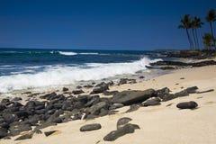 Kona Küstenlinie Lizenzfreies Stockfoto