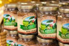Kona-Kaffee, Hawaii stockbilder