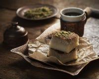 Konafa - orientalischer Nachtisch Stockfoto