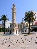 Konak广场在伊兹密尔 库存图片