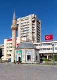 Konak清真寺,伊兹密尔,土耳其 库存照片