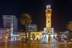 Konak fyrkant i Izmir Royaltyfri Fotografi