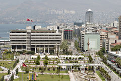 Konak square of Izmir. A view of Konak square of Izmir Stock Photography