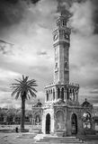 Konak Square view with old clock tower, Izmir Stock Photography