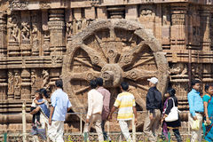 Konarak Sun Temple Stock Photography
