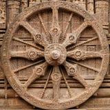 Konarak Temple. View on the ancient Surya Hindu Temple, Sun Temple,  at Konarak, Orissa, India. 13th Century AD Stock Photography